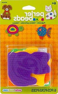 Perler Beads Small Animal Pegboards - 4 Count