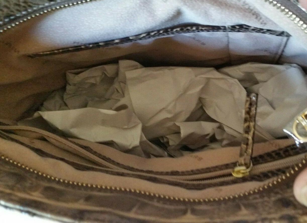 Brahmin Quinn Melbourne Shoulder Bag Coffee