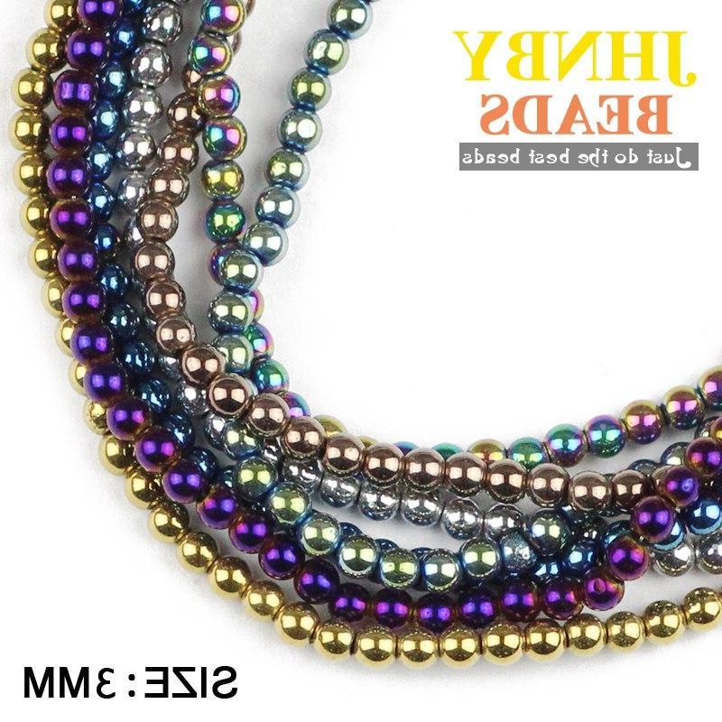 JHNBY 3mm 200pcs ore color Loose <font><b>beads</b></font> Making DIY