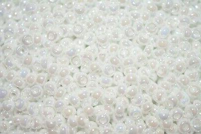 seed beads 11 0 white pearl ceylon