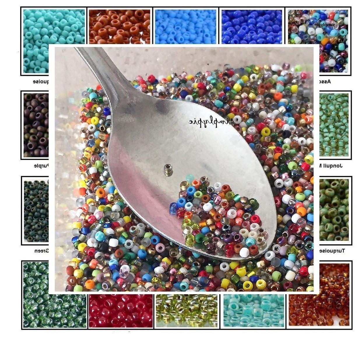 tiny beads 11 0 10 grams glass