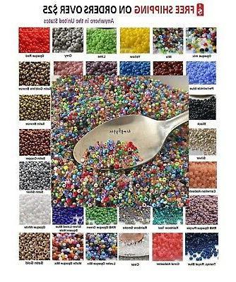 tiny beads 11 0 czech 10 grams