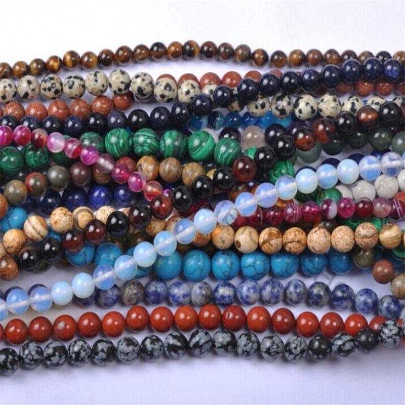 Wholesale Natural Gemstone Labaradorite Amethyst Lapis Beads Pick