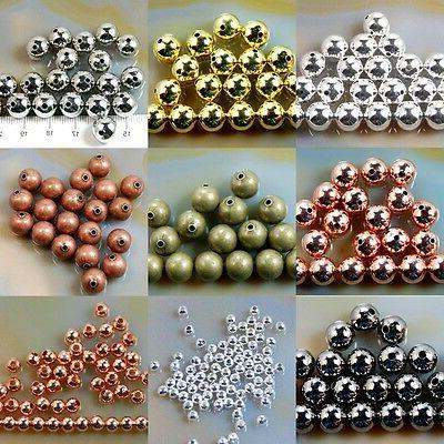 Wholesale Smooth Copper Spacer 2.4mm 3mm 8mm
