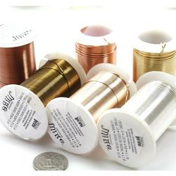 LACQUERED tarnish Resistant Craft Wire Beadsmith 3 Colors 7