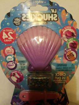LIL' SHUCKIES Pearl Party Glitzy Slime Beads Purple - Series