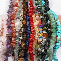 Lot 5-8mm Natural Freeform Stone Chips beads strand gemstone
