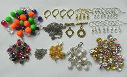 Lot Beads, Earring, Bead Caps & MORE Jewelry Making Findings