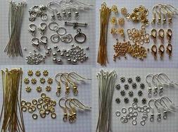 Lot Making Jewelry Necklace Earring & Bracelet Kit Findings