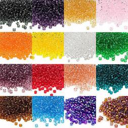 Lot of 340 Matsuno Dyna-Mites 6/0 #6 Glass Spacer Seed Beads