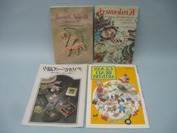 Lot of 4 books on beadwork, Beaded Animals & Glass Bead Arti