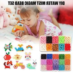 Magic Hama Beads DIY 3D Puzzles Educational Toy Craft X3T5
