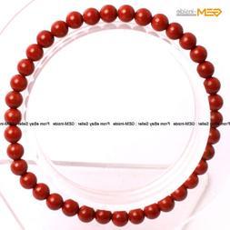 Mens Womens Natural Red Jasper Stone Beads Energy Healing St