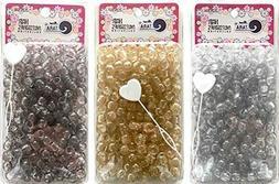 Tara Metallic Color 12 MM Plastic Beads For Braid Hair 240 P