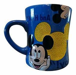 Mickey Mouse Quotes Glass Beaded Ceramic Mug - Disney Parks