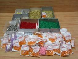 Mixed Lot of Beads for Jewelry Beading Crafts Pony Rondelle