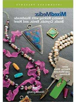 Mixed Media - Jewelry Making with Handmade Beads Crystals Re