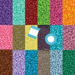Miyuki Delica 11/0 7 grams 1200 Glass Seed Beads Duracoat 40