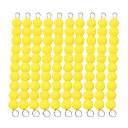 Montessori Beads Chain 1-100 Number Counting Preschool Math