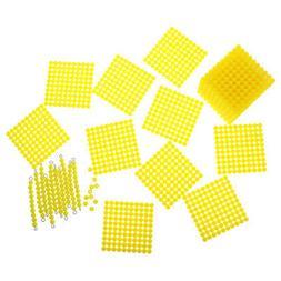 Montessori Home 10 Hundred Beads Square Cube BarKids Trainin