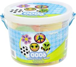 Perler Multi Mix Assorted Fuse Bead Bucket, 6000 pcs
