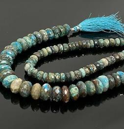 Natural Azurite Malachite Gemstone Beads, Jewelry Supplies,