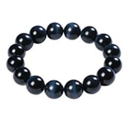 Natural Hawk Tiger Eye Gemstone Round Beads Women Men Best B