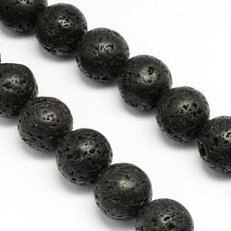 14mm Natural Lava Beads Diffuser Beads Scent Aromatherapy Bl