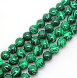 Natural Malachite Gemstone 6-10mm Beads 15.5'' For Bracelet