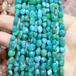 Natural Stone Beads Irregular Shape For Jewelry Making DIY B