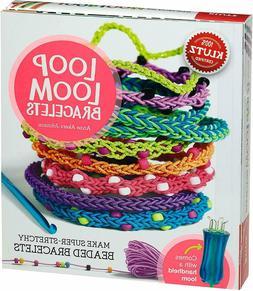 NEW KLUTZ Loop Loom Bracelets Make Super-Stretchy Beaded Bra