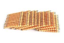 NEW Montessori Mathematics Material - 9 Golden Bead Hundred