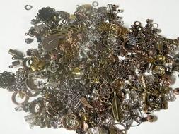 NEW SIZE! MINI METAL MIX Beads Lot Jewelry Making Supplies R