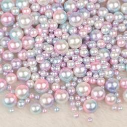 No Holes Garment Beads Imitation Pearls Clothing Supplies Lo