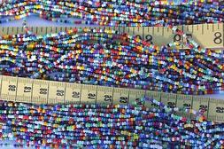Opaque All Mixed Up Color's 11/0 Glass Seed Beads Craft Jewe