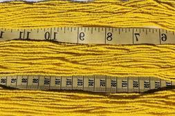 Opaque Light Yellow Matte  11/0 Czech Glass Seed Beads Craft