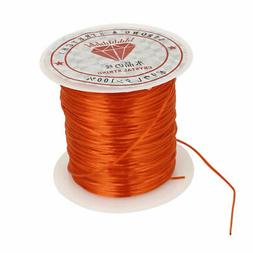 Orange Elastic Stretch Beading String Thread Cord Wire 1mm f