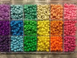 Pastel Plus, Pony Bead Box Organizer 18 Colors