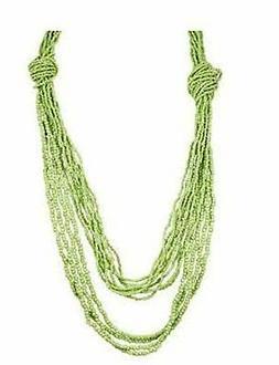 Pendant Necklace for Women-Girls Puke Shell Multi Layered &