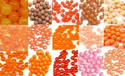 Pkg of 40 TroutBeads Trout Beads Fishing Bait Tackle Craft 8