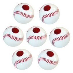 Darice Plastic Baseball Bead, 60pc Pkg.