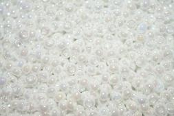 Miyuki Seed Beads 11/0  - White Pearl Ceylon