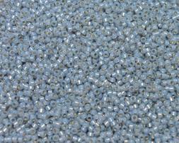 Miyuki Seed Beads 8/0 - Silver-Lined Alabaster Smoky Opal