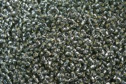 Toho Seed Beads 8/0 - Silver-Lined Black Diamond
