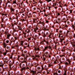 TOHO Seed Beads Round Size 11/0 28GM PermaFinish Galvanized