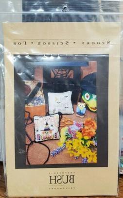 SHEPHERD'S BUSH Spooky Scissor Fob Kit  Scissors Beads Floss