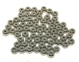 stainless steel rondelle beads 4mm x 2mm