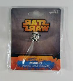 Star Wars Stormtrooper Charm Bead Bracelet Necklace Pendant
