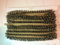 Tan Beaded Loop Home Decor Trim- 10 yrds Included