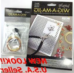 WIG-A-MA-JIG Tool Beadsmith Choose Deluxe Beginner Craft Wir